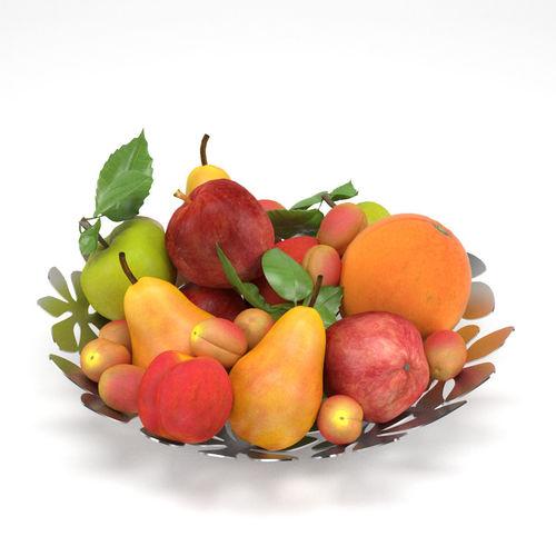 ikea stockholm fruit bowl 3d model max obj mtl 3ds fbx 1