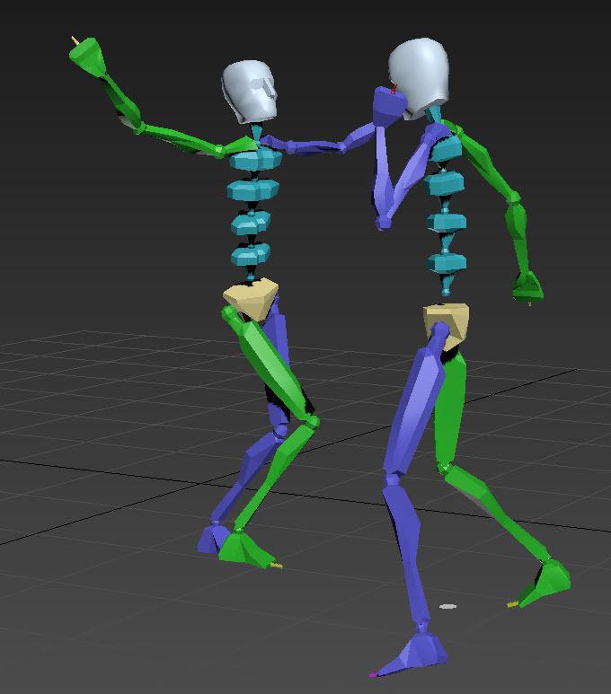 dance 2   3D model