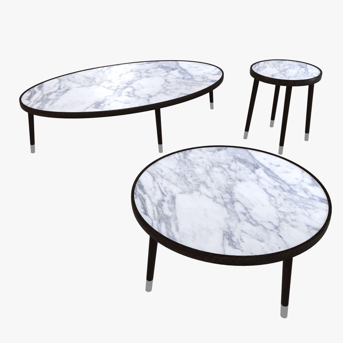 Bigne porada coffee table 3d model max obj 3ds fbx mtl for Coffee table 3d model