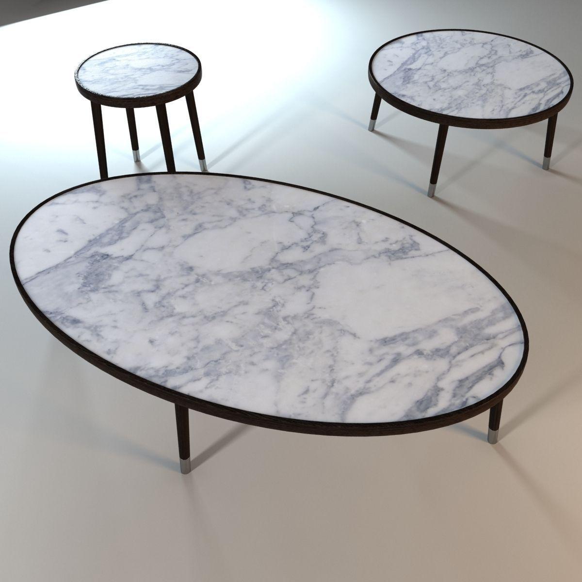 Bigne porada coffee table 3d model max obj 3ds fbx for Coffee table 3d model