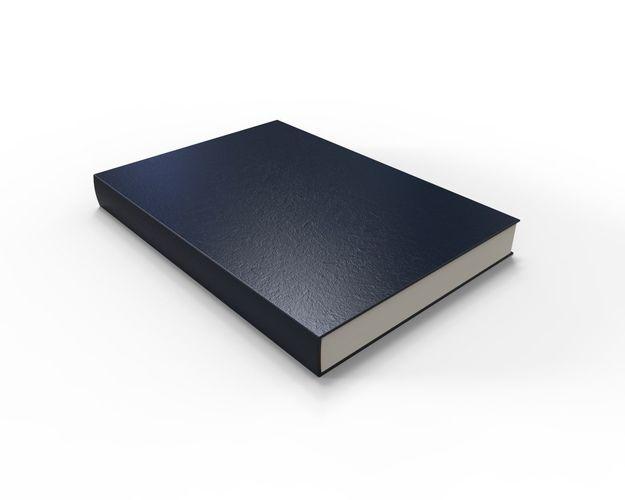 rigged book 3d model rigged obj mtl fbx ma mb 1