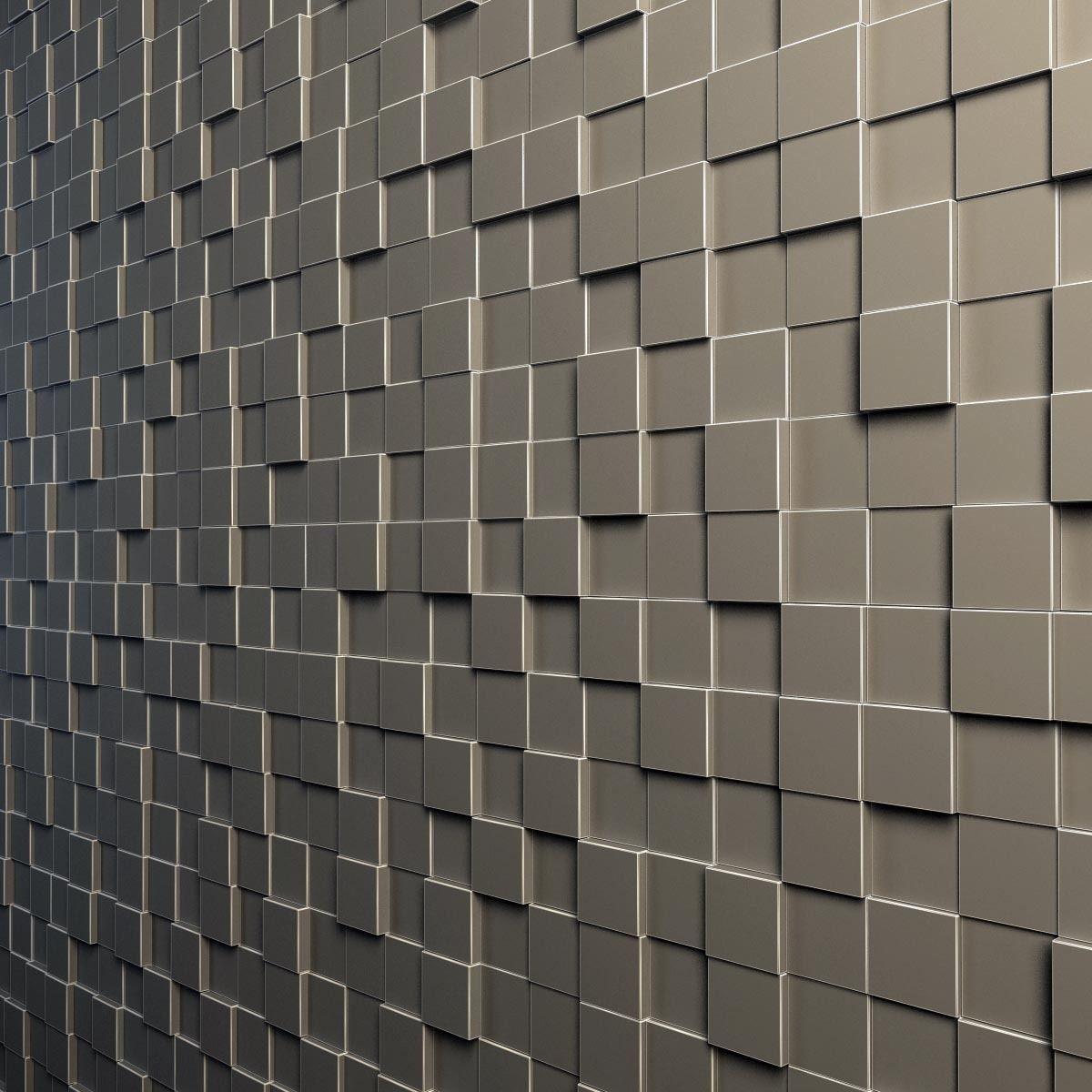 Teak Interior Cladding 3d Wall 3d Model Max Obj 3ds