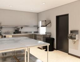 kitchen restaurant 3D