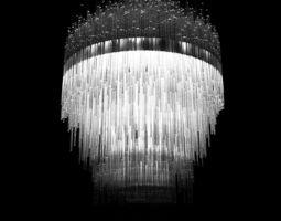3D model Terzani Iceberg Ceiling Light