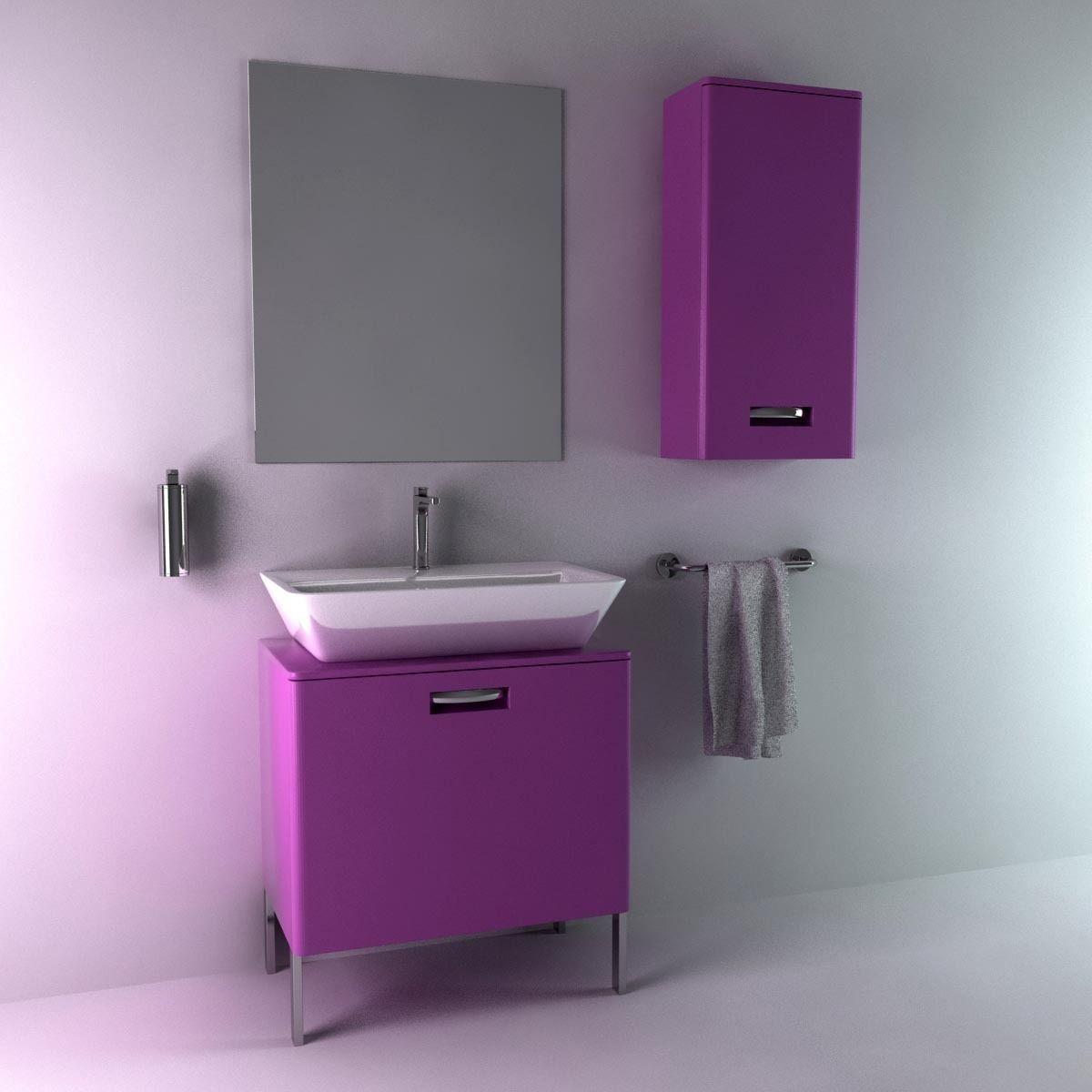 Roca gap bathroom furniture set 3d model max obj fbx mtl for Roca bathroom furniture