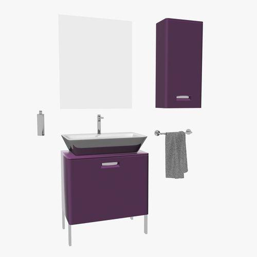 Roca gap bathroom furniture set 3d model max obj fbx for Roca bathroom furniture