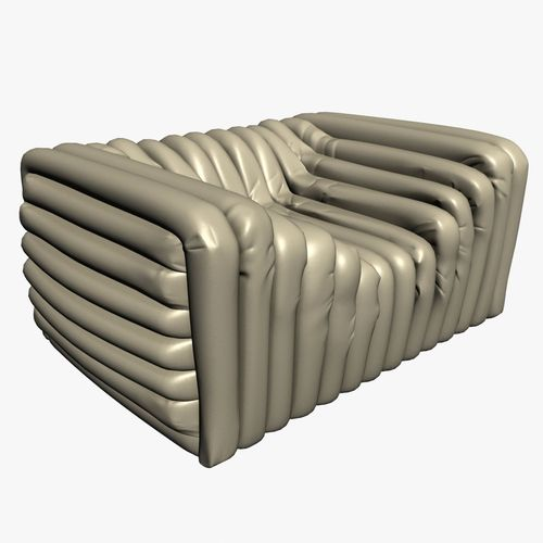 Versace Bubble Sofa 3D Model .max .obj .3ds .fbx ...