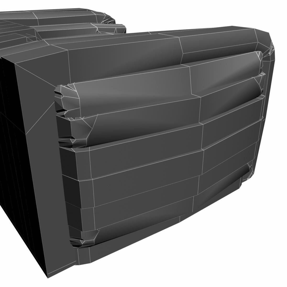 Versace Bubble Sofa 3D Model .max .obj .3ds .fbx ...