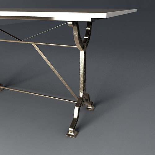 Restoration Hardware Factory Zinc Cast Iron Dining Tables  : restoration hardware factory zinc cast iron dining tables 3d model max obj fbx from www.cgtrader.com size 500 x 500 jpeg 22kB