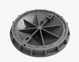 3D cast iron hatch 2