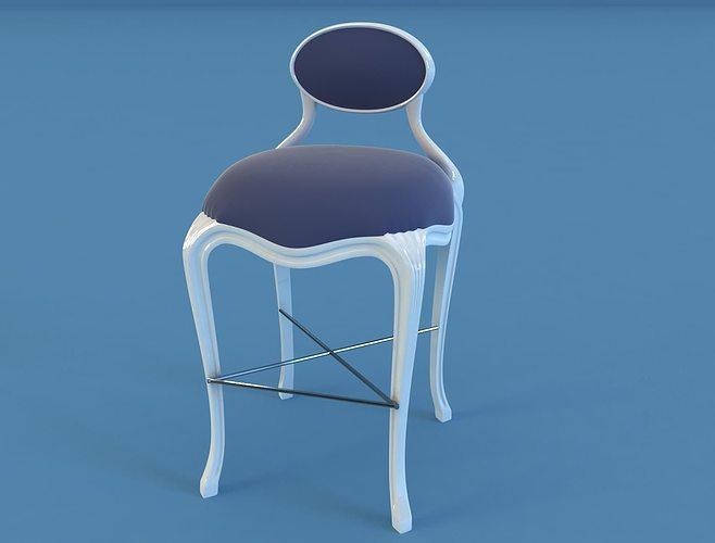christopher guy art 60 chair 3d model max 1