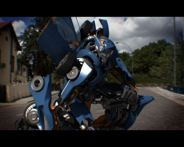 M10 Transformer-like Robot3D model