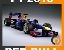 F1 2013 Red Bull RB9 - Infiniti Red Bull Racing 3D Model