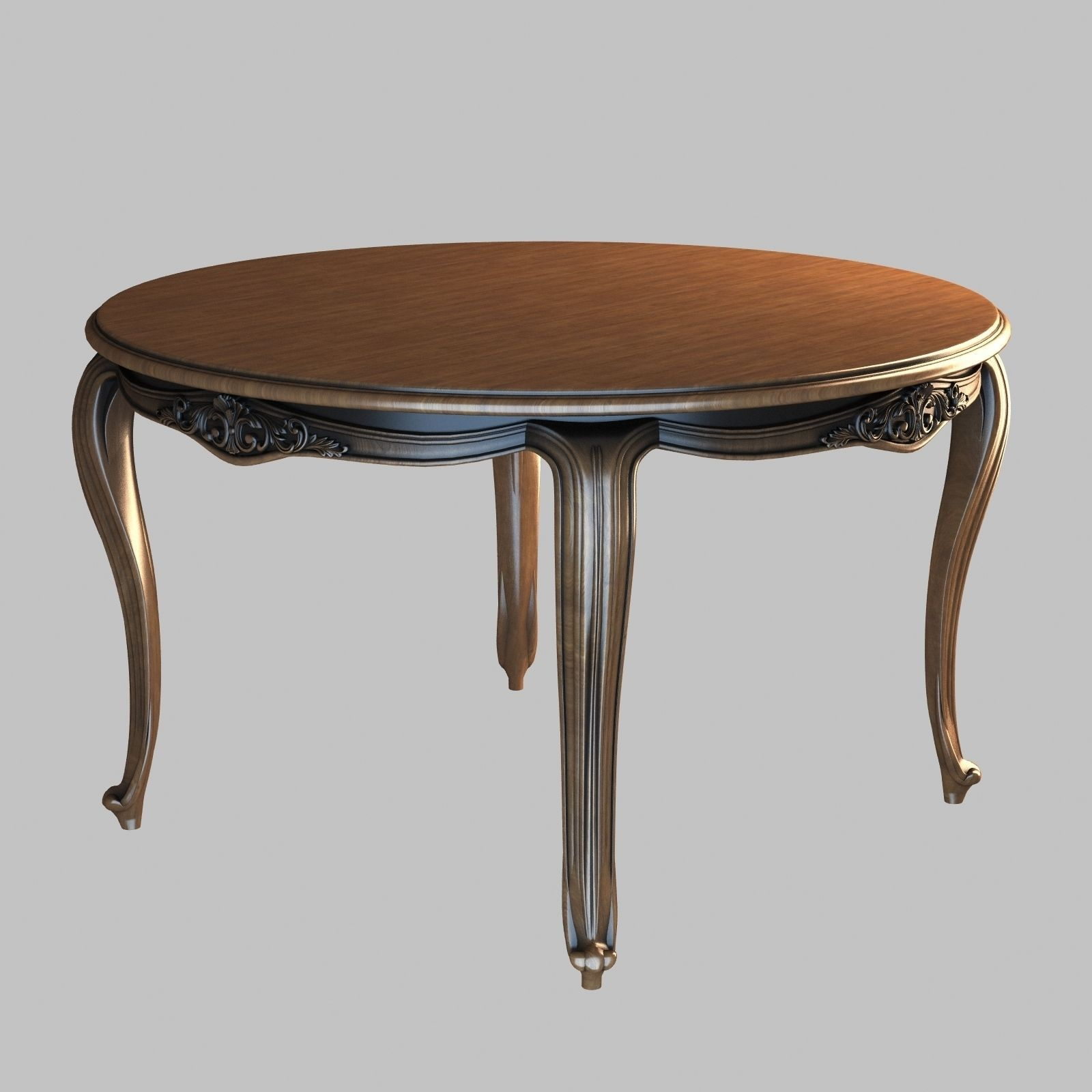 Dining round table 1 3d model max for Dining table latest model