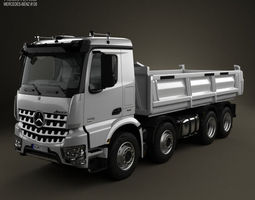 3D Mercedes-Benz Arocs Tipper Truck 2013
