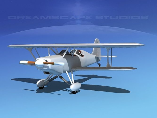 stolp starduster too sa300 bare metal 3d model max obj mtl 3ds lwo lw lws dxf stl 1