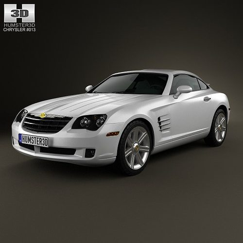 3D Chrysler Crossfire Coupe 2003