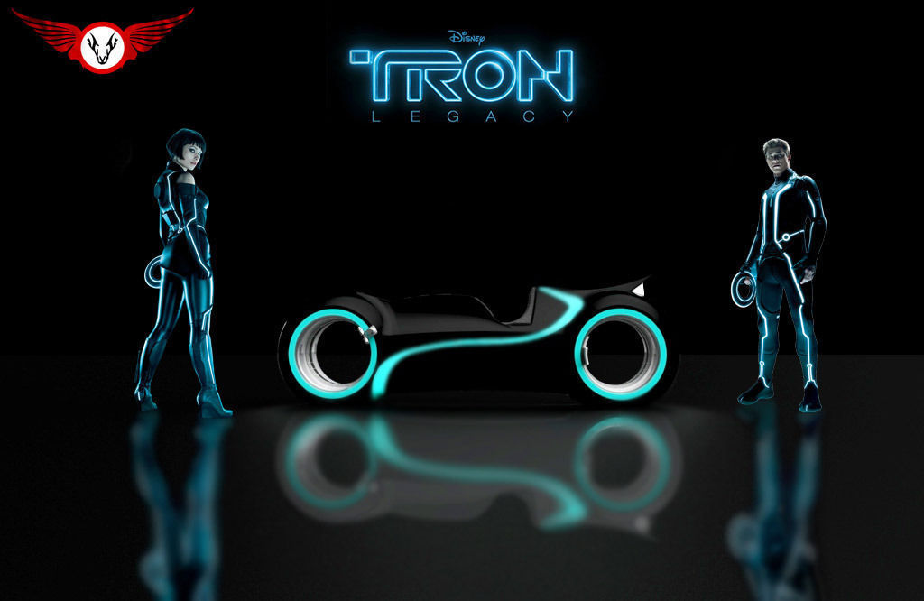 how to make tron legacy bike