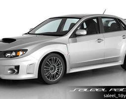 Subaru Impreza WRX STi Sedan 2013 3D