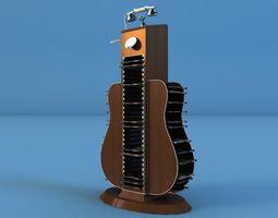 guitar dvd cd 3D Model