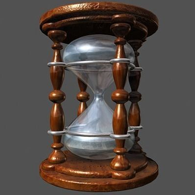 Hourglass 3D Model .max .3ds .dxf - CGTrader.com