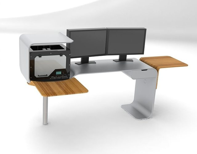 3d Model Future Desk 2 Cgtrader
