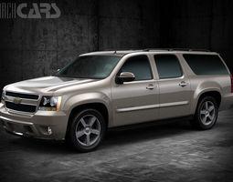 Chevrolet Suburban 2011 3D Model
