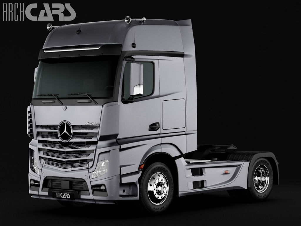 Mercedes benz actros 2014 3d model max for Mercedes benz truck models