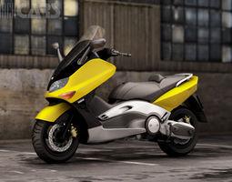 Yamaha T Max 2012 3D Model