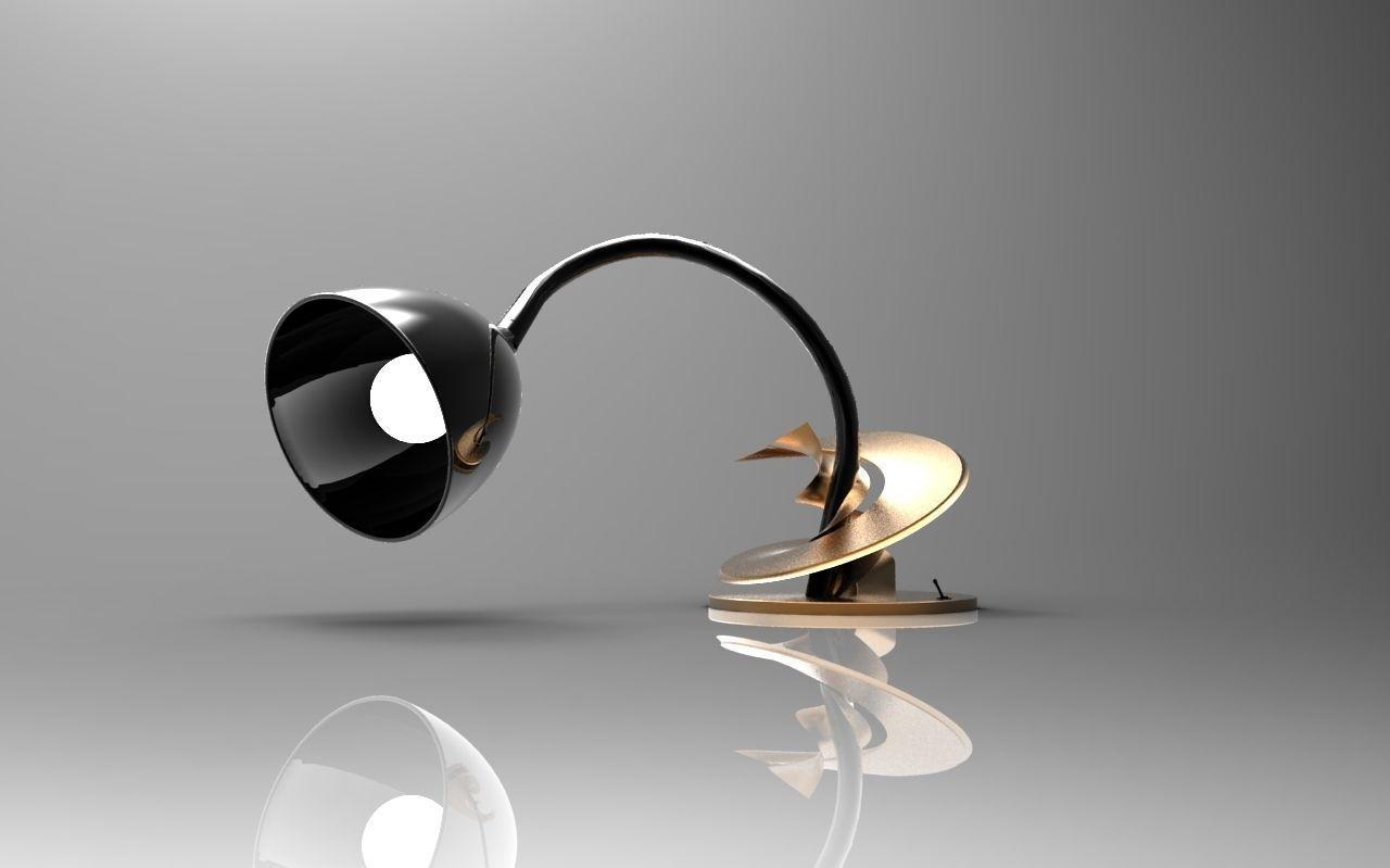 Table Lamp Free 3D Model