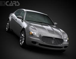 Maserati Quattroporte 2008 3D Model