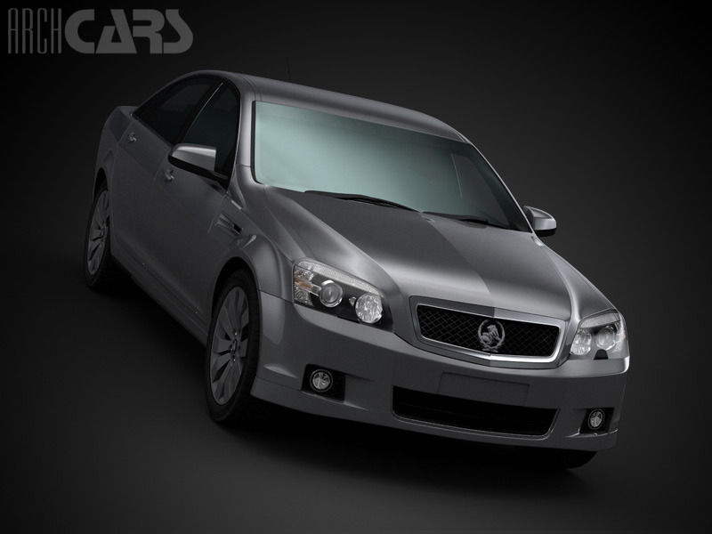 Holden Caprice 2011 3d Model Max Cgtrader Com