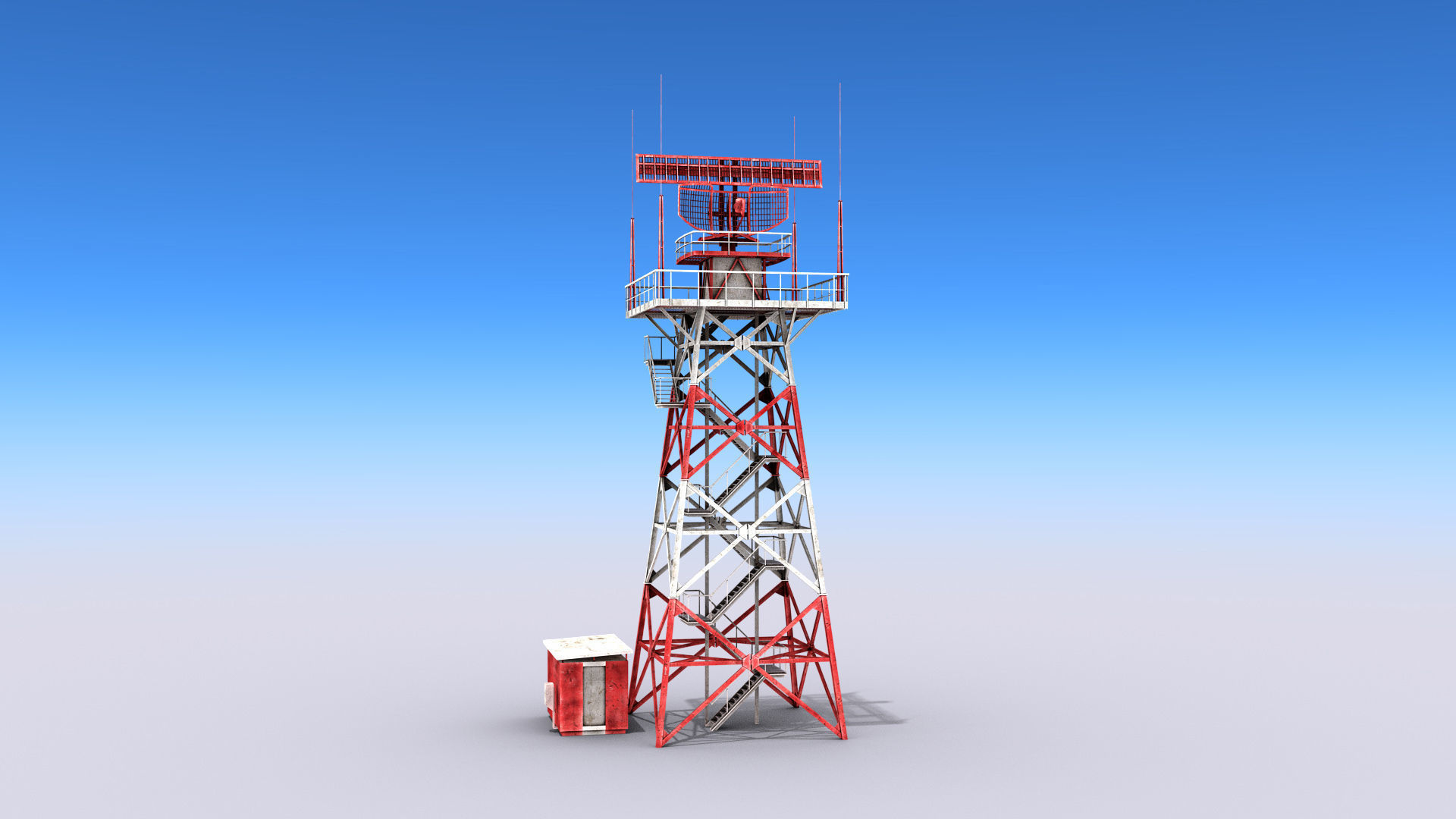 Big Radar Tower