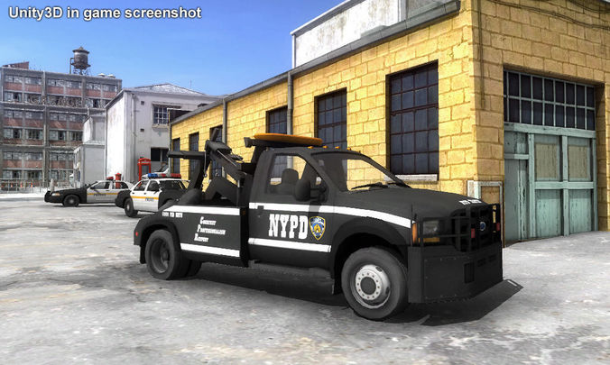 Tow Truck: Police Tow Truck Games
