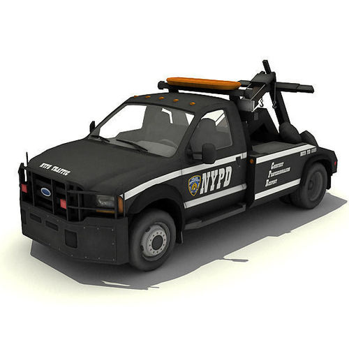 NYPD Tow Truck3D model