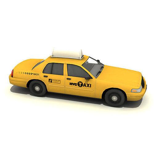 New York Taxi Car3D model