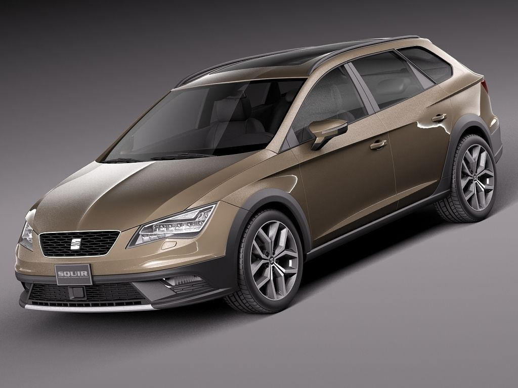 seat leon x perience 2015 3d model max obj 3ds fbx c4d lwo lw lws. Black Bedroom Furniture Sets. Home Design Ideas