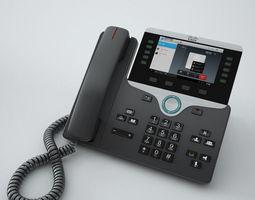 Cisco IP Phone 8841 3D Model