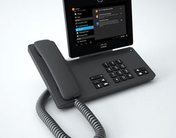 Cisco Phone DX 650 3D