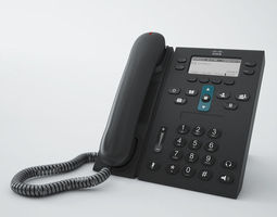 Cisco Phone CP6941 3D model