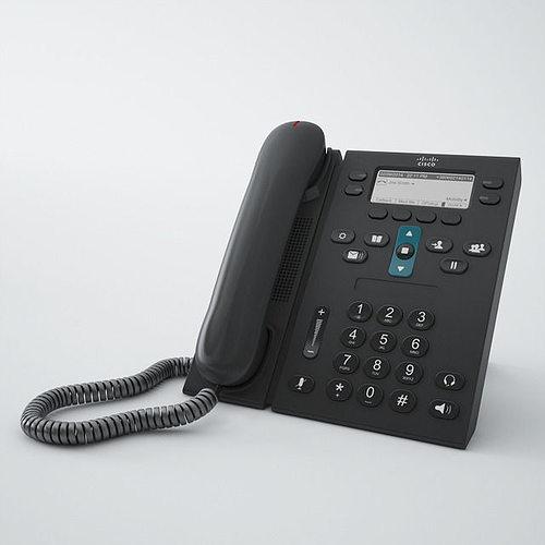 cisco phone cp6941 3d model max obj fbx mtl 1