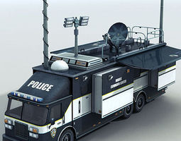 FBI command center 3D Model