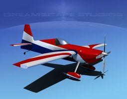 3D model Zivko Edge 540 V04