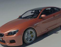 BMW M6 Coupe 2015 3D Model