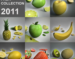 Xx Fruit collection 3D Model