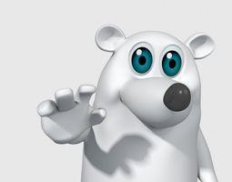 animated snowman  VR / AR ready 3d model