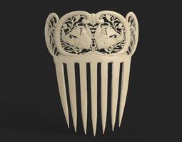 medieval comb 3D Model