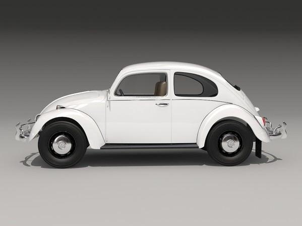 Volkswagen Beetle 1300 1963 3D Model .max .obj .3ds .c4d - CGTrader.com