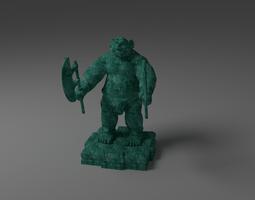 OGRE WARRIOR 3D Model