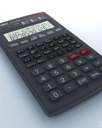 calculator3D model
